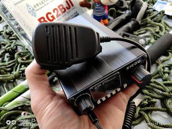 XIEGU G1M wielu zespół QRP Transceiver HF radio krótkofalowe sztab i prętów ze stali nierdzewnej CW 5w 0.5-30mhz