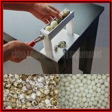 Новейший дизайн высокая эффективность практичная бытовая ручная машина для очистки Перепелиных яиц от кожуры машина huller машина Шеллер машина
