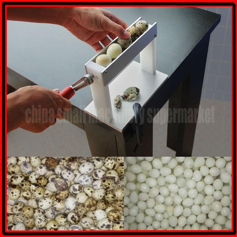 Newest Design High Efficiency Practical Household Manual Quail Egg Peeler Machine Huller Machine