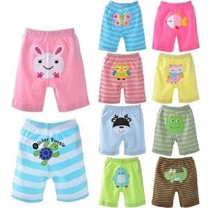 Image 2 - 2020 bebek pantolon 5 pack şort erkek külot kızlar kısa pantolon bebek kız tayt bebek giyim kız giyim