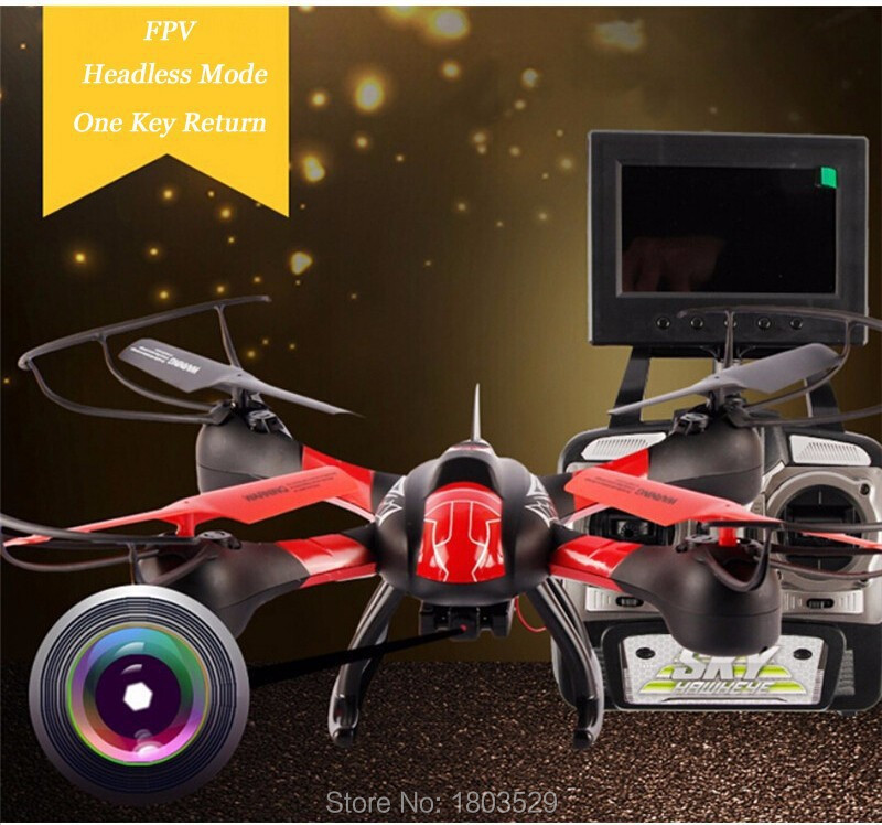 SKY HAWKEYE 1315S RC helicopter 5.8G 4CH FPV RC Quadcopter with Real-time Transmission 0.3MP HD Camera RC drone VS X8C H8D V686