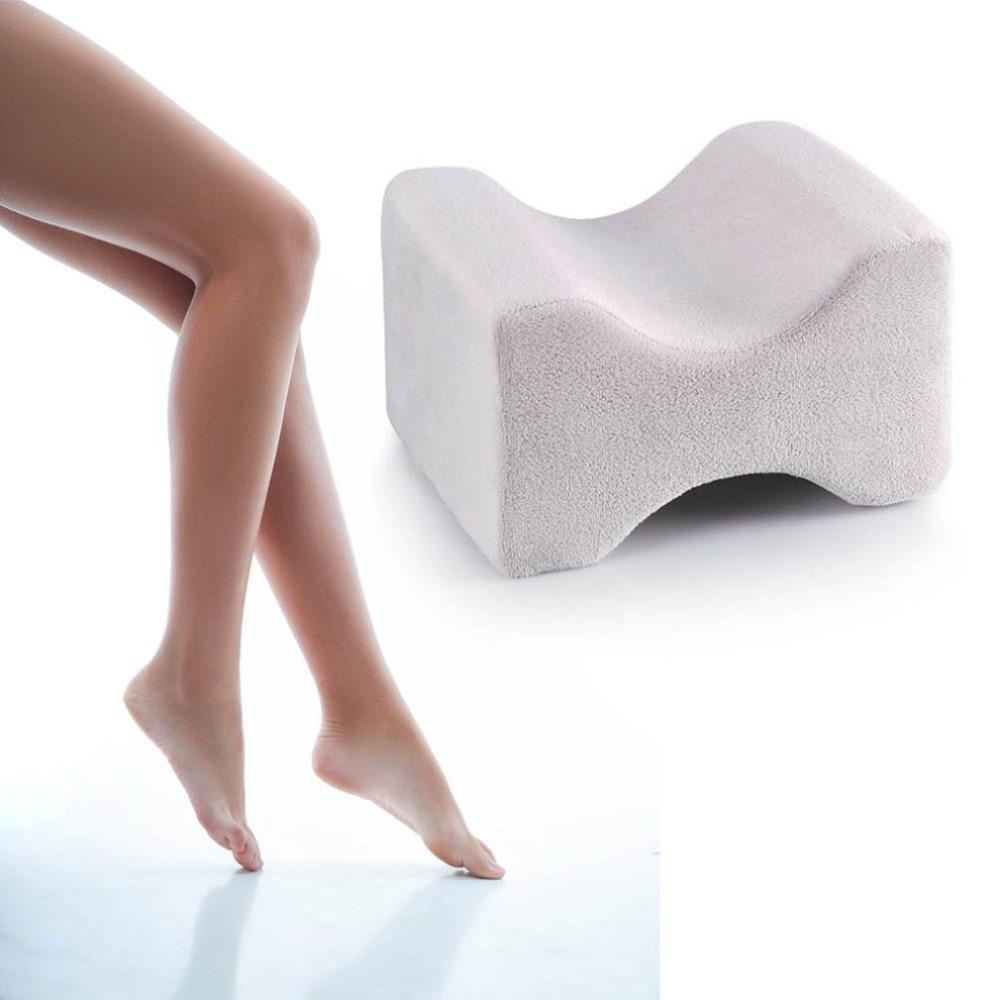 Soft Pillow Knee Pillow Clip Leg Memory Foam Wedge Slow Rebound Memory Cotton Clamp Massage Pillow For Men Women Drop Shipping