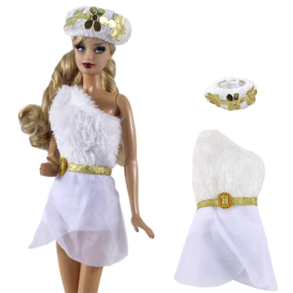 1 x кукла платье + шляпа для кукол 1/6 подходит для куклы BJD FR Kurhn аксессуары для кукол