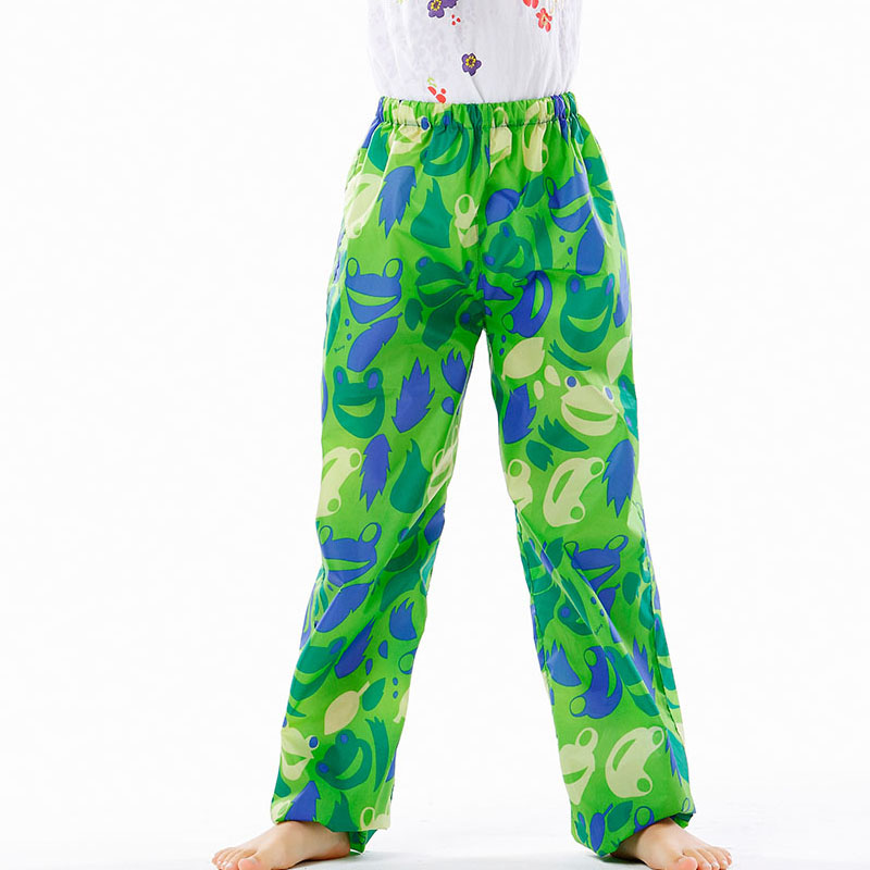 Yuding rain pants polyester tastless fabric unisex kids for Kids outdoor fabric