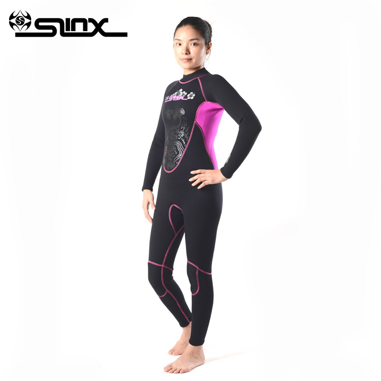 Slinx 3mm wetsuis women aqualung neoprene diving equipment surfing wet suit jumpsuit wetsuit suits for cold water цена