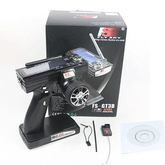FS-GT3B FS GT3B 2.4G 3CH RC Gun Système Émetteur avec Récepteur Pour RC Voiture Bateau avec Écran LED
