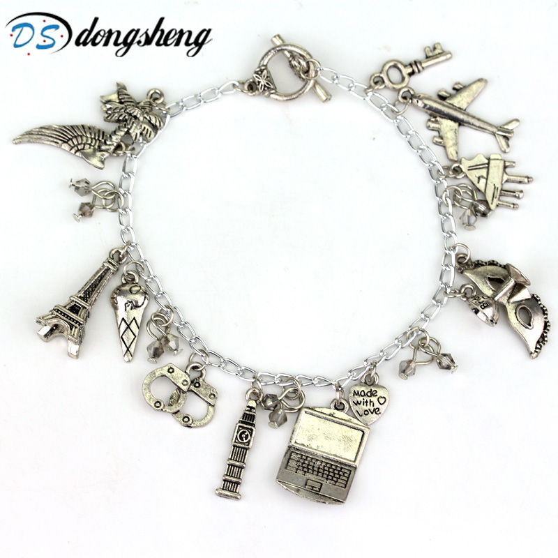 Hot Sale Movie Fifty Shades Of Grey With Style Bracelet Popular Charms Bracelet Beaded Bracelet -25