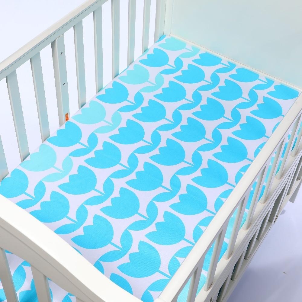 100% bawełna Dziecko prześcieradło Cartoon Crib Materac Protector - Pościel - Zdjęcie 4