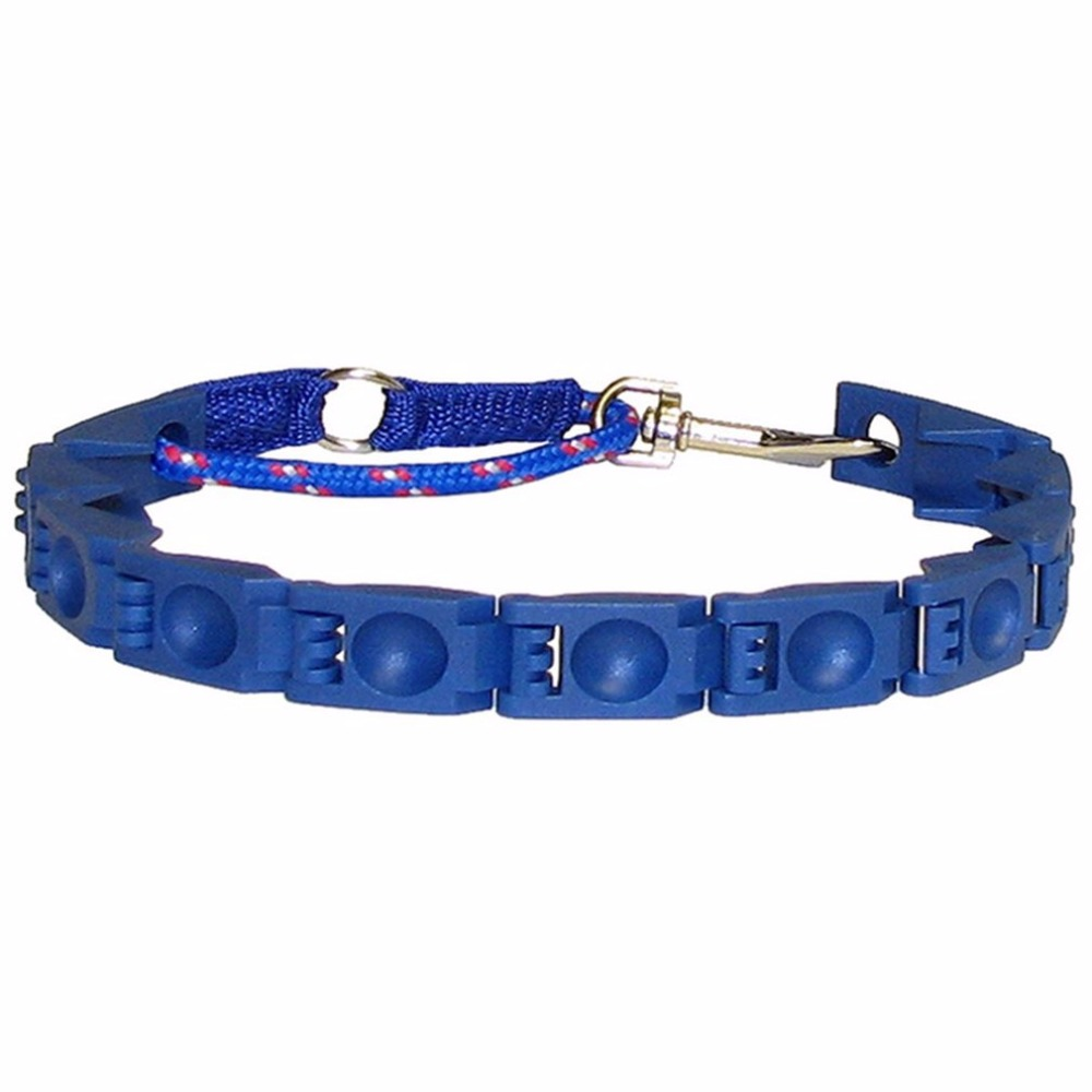 New Practical Design Perfect Pets Dogs Command Collar Adjustable ABS Anti-Bark Small Dog Command Training Collar Blue