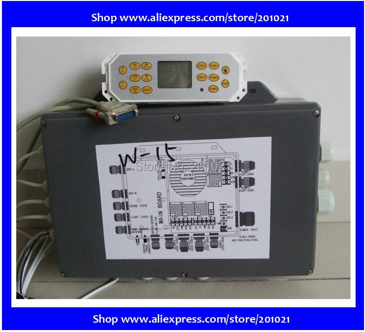 Whole set of spa controller including control box and control panel for Winer Hotpool AMC series