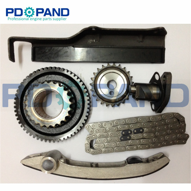 US $53 49 13% OFF|4M40 4M40T 4M40 T Double Row Timing Chain Gear Tensioner  Kit for Mitsubishi MONTERO PAJERO SHOGUN TRITON SOHC 8V 2 8TD -in Timing
