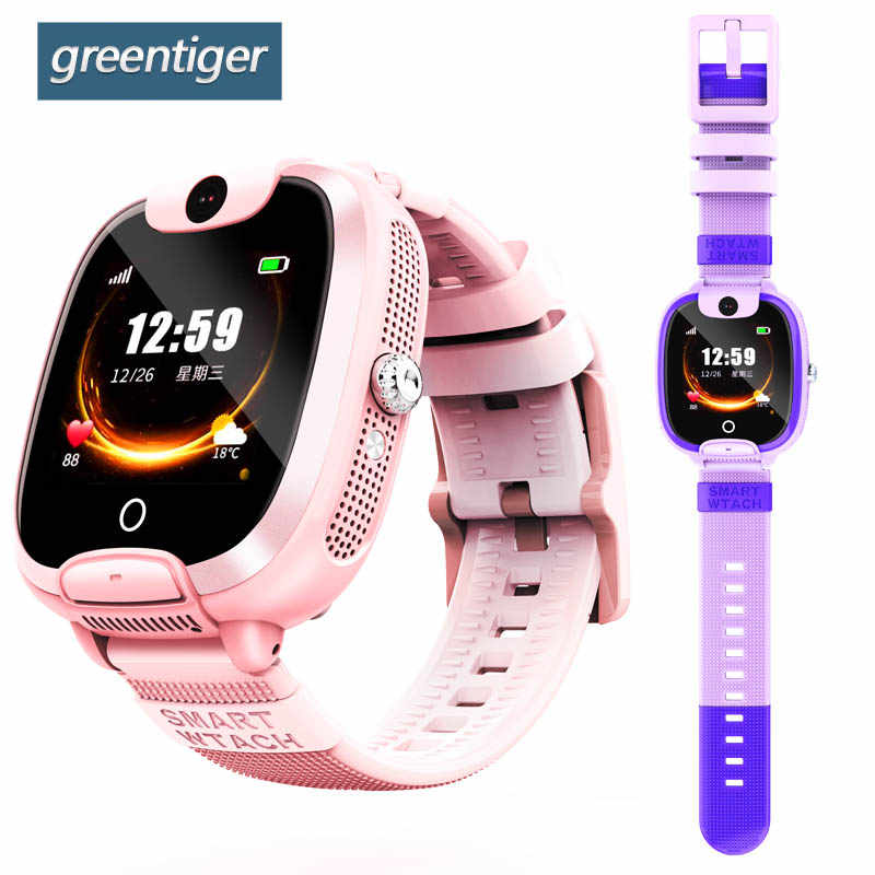 Greentiger DF08 Smartwatch Baby SIM Card Call Tracker Children Camera Alarm relogios Smart Kids Watch LBS Tracking Location Safe