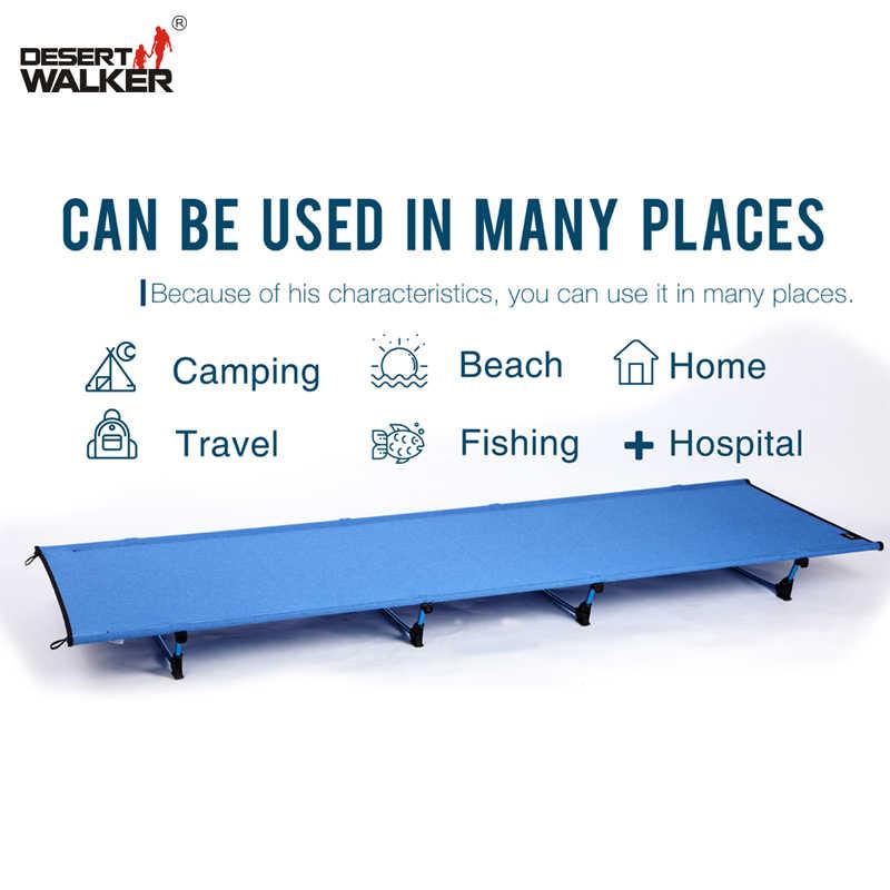 2.8LB коврик для кемпинга W60 * L185CM Сверхлегкий складной вес кровати предел измерения 440LB идеальный Туризм Путешествия кроватка домашняя кровать Удобная