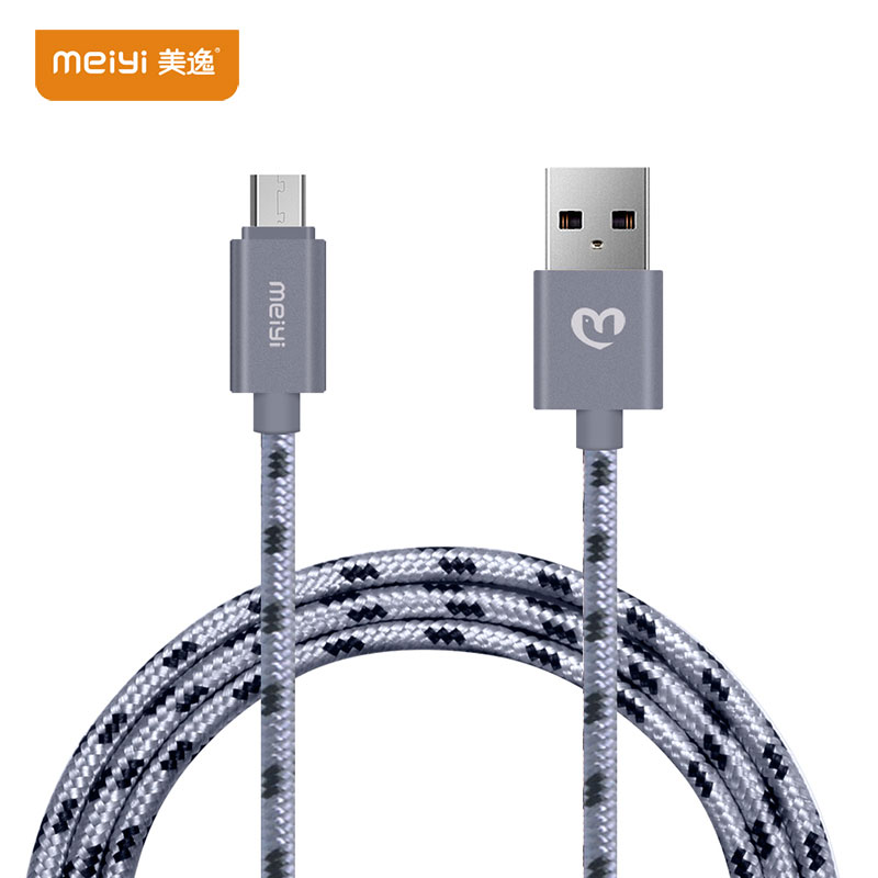 MEIYI Micro-Usb-Cable Charging-Cord Fast-Charge Xiaomi Mobile-Phone Huawei Samsung  title=