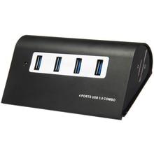 Новый список супер скорость 3-порты USB 3.0 концентратор сплиттер + 1-портовый USB 2.0 концентратор + два-в-одном устройство чтения карт 2,0 для чтения и написания TF / SD карты+ USB3.0 высокой частоты линии передачи