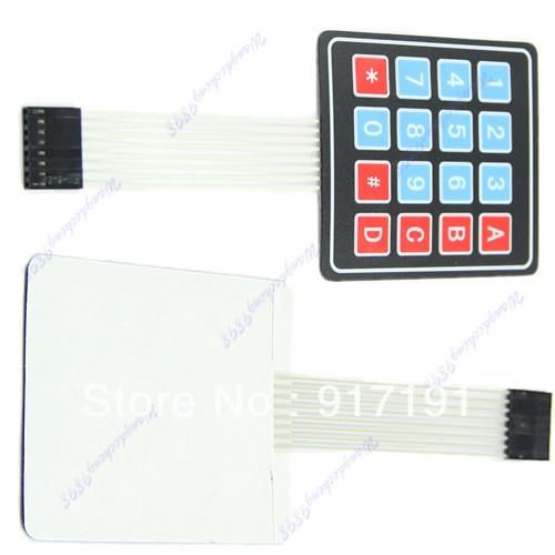 OOTDTY J34 4x4 16 Key Matrix Membrane Super Slim Switch Keypad Keyboard General Use