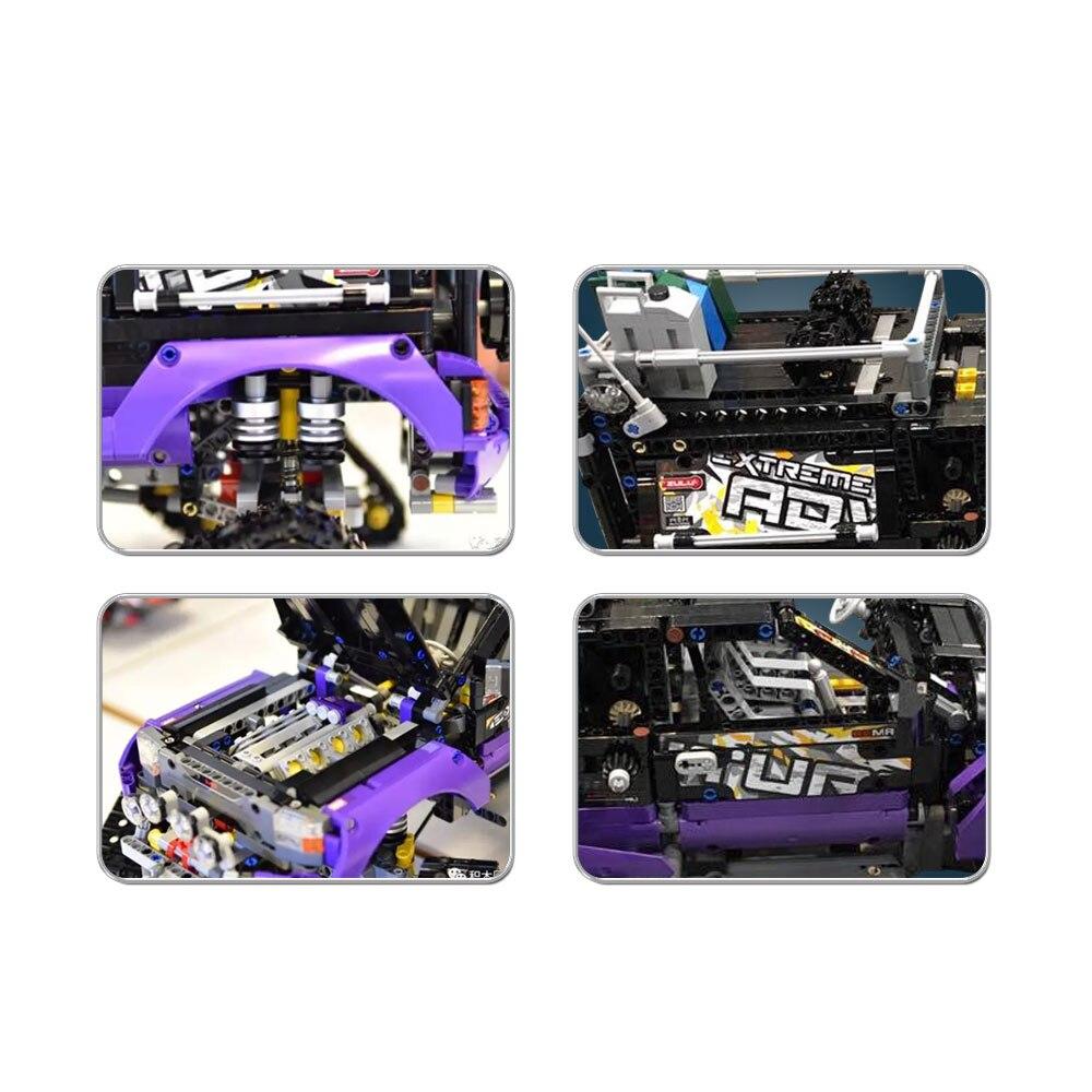Compatible con lego Technic Model Building Blocks juguetes 20057 3372 - Juguetes de construcción - foto 3