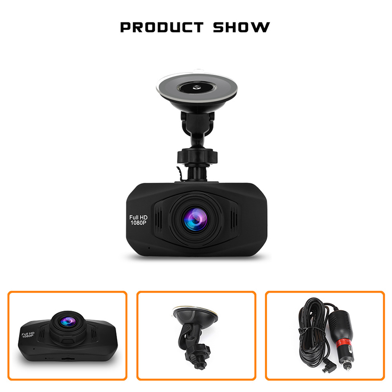 1080P 30fps HD Dash Camera Car DVR Car Dvrs Camera Wireless Hidden Dash Cam 170 Degree Wide Angle Lens Car Driving Recorder