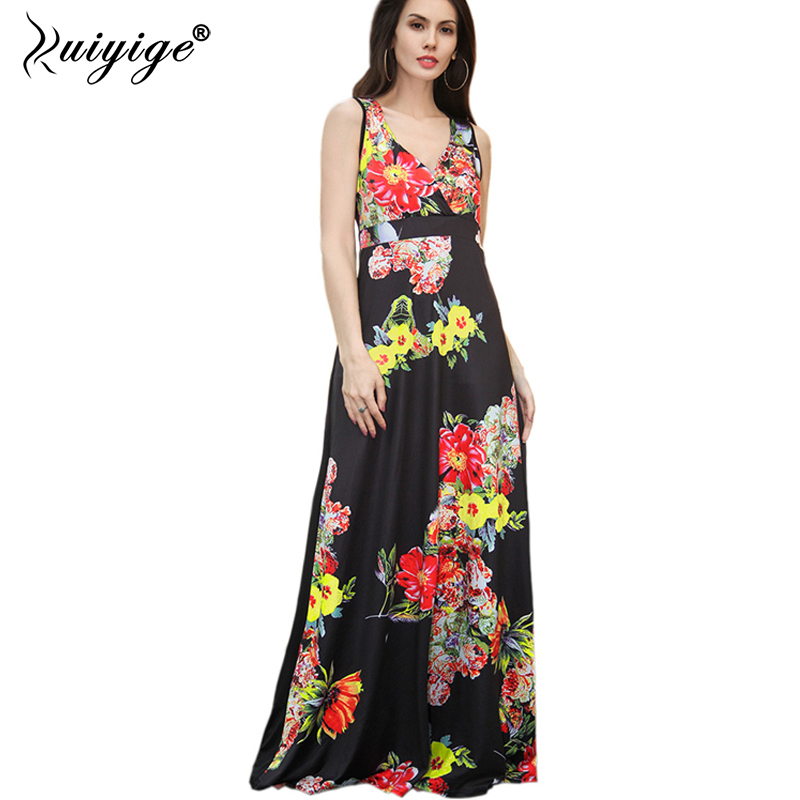 Fitted Long tank Maxi Dress