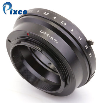 Pixco For CRX-E/M lens Adapter Suit For Contarex CRX Mount Lens to Canon EOS M EOS M2 Camera Body Without Tripod фото