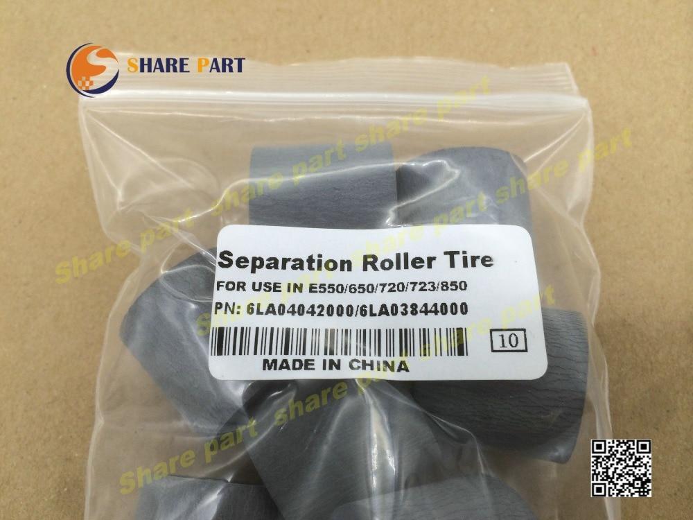10 X Separation roller tire for Toshiba E550 E650 e720 E723 E850 6LA04042000 6LA03867000 6LA03844000 6LA03865000 305JN702H010 X Separation roller tire for Toshiba E550 E650 e720 E723 E850 6LA04042000 6LA03867000 6LA03844000 6LA03865000 305JN702H0
