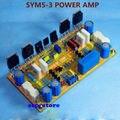 Mono DIY Clássico Symasym5-3 Discrete amplificador De Potência kit 200 W Kit AMP