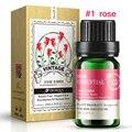 100% Pure 10 мл Чистый Лаванда Роза Чайного Дерева Красоты Глаза Эфирные масла для Ароматерапии Спа Массаж уход за кожей YLL434