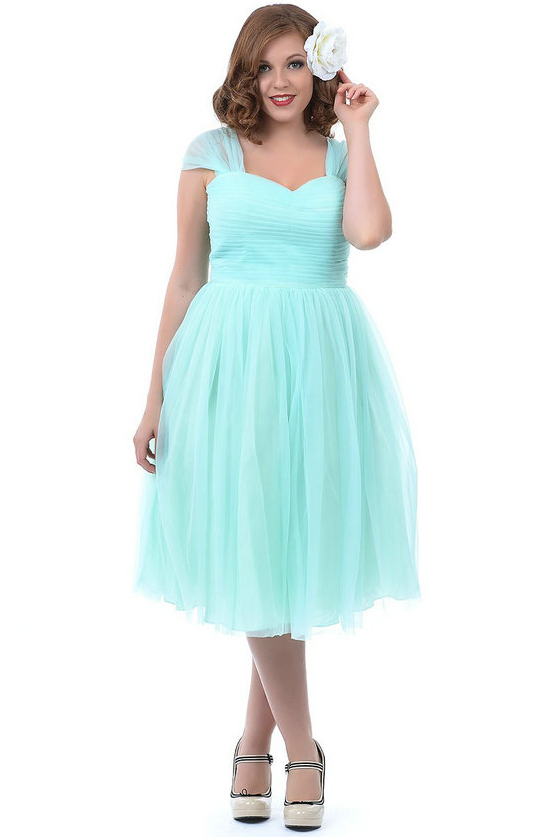 Cheap Mint Green Pink Bridesmaid Dresses Plus Size 2017 Cap Sleeves