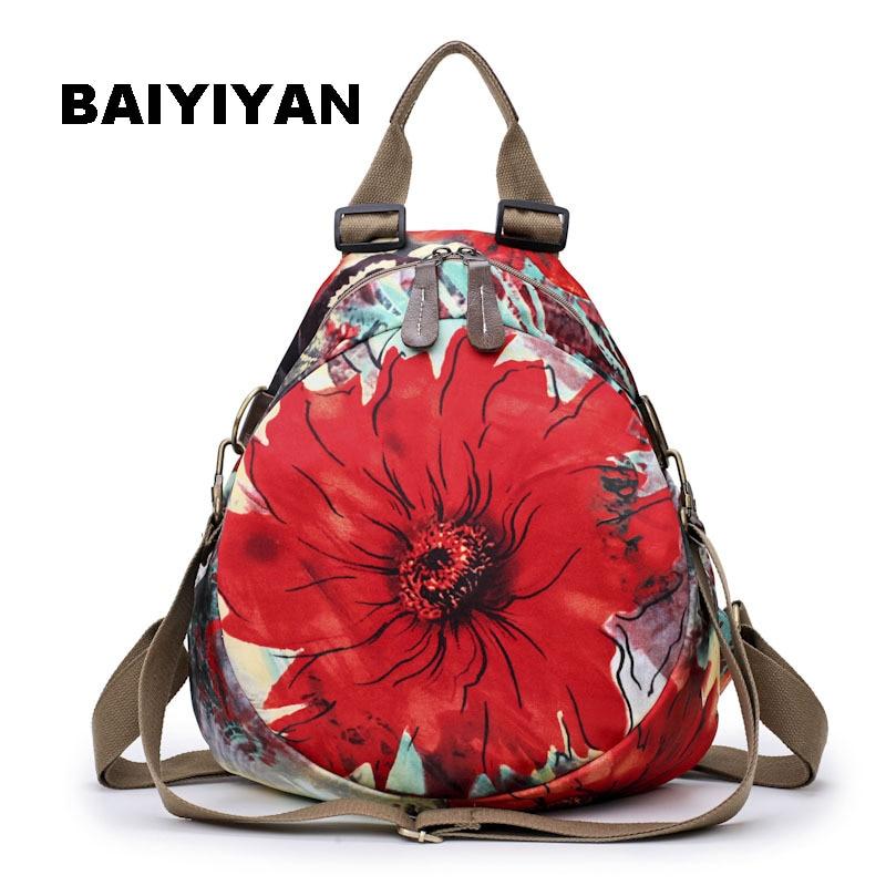 Fashion Women Shoulder Mini Bag Designer backpack High Quality Handmade Printing Woman Casual Bag Shoulder Bag