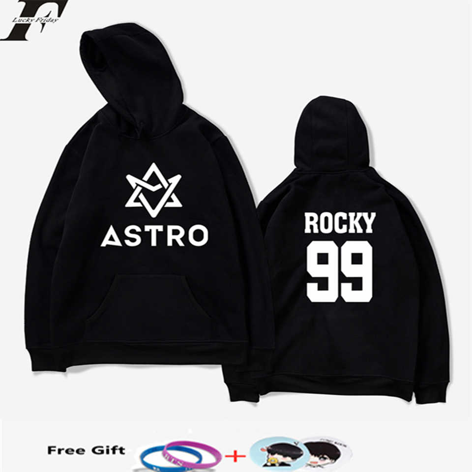 LUCKYFRIDAYF K-pop ASTRO Hoodies Moletom STAR Group Spring Women/Men Harajuku Sweatshirt Casual Hoodie Men/Women Hoodie Clothing