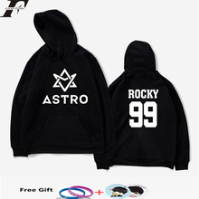 LUCKYFRIDAYF K-pop ASTRO Hoodies Moletom STAR Group Spring Women/Men Harajuku Sweatshirt Casual Hoodie Men/Women Clothing