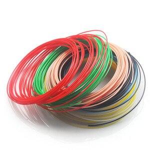 Image 5 - Kwaliteit product abs 1.75mm 20 kleuren 3d pen filament pla filament abs filament 3d pen plastic 3d printing filament abs plastic