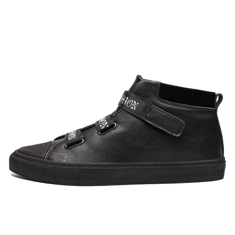 Forças Preto Das Rua De Moda Sapatos Homens Dos top High RaS0WzS8