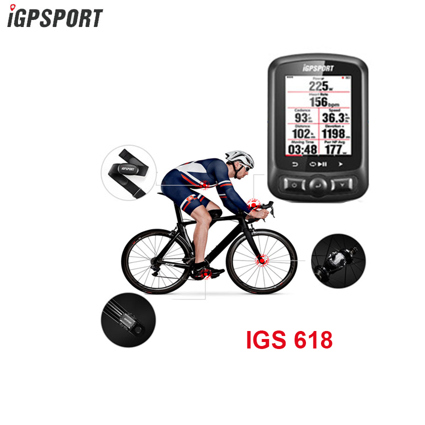 Igpsport 7 Group IGS618 ANT Bluetooth Bicycle Computer Gps Bicicleta Wireless Bisiklet Aksesuar Cycling Speedometer Bike
