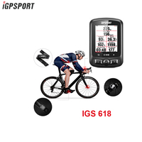 Igpsport 7 Group IGS618 ANT+Bluetooth Bicycle Computer Gps Bicicleta Wireless Bisiklet Aksesuar Cycling Speedometer Bike Sensor