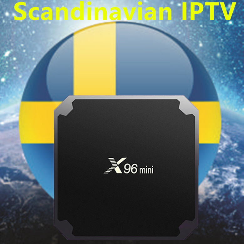 Sweden TV X96 Mini Android 7.1 box For Europe/Sweden/French/Germany/Italy/XXX/USA/UK 4000+ Scandinavian channels set top box 2017 new arrival esuntv free iptv android tv box 2 16g europe sweden french germany italy xxx 4000 scandinavian channels
