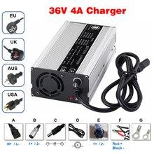 36 V 4A caricatore di Uscita 42 V 4A caricatore caso di alluminio Utilizzato per 36 V Li Ion di ricarica Potere del Hight Caricabatterie intelligente