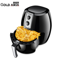 Gold Aikia Electric Air Fryer French Fries Cooking Potato Frying Cook Fried Chicken Machine Deep Fryer