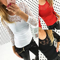 2017 Summer Europe and America T Shirt Women T-shirts New Tshirt Top Tight Sexy Lace Stitching Womens T-shirt Ladies TM17022701