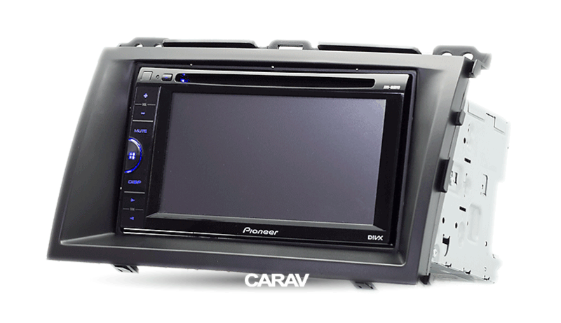 GX 470 2002-2009 120 CARAV 07-002 doble DIN//2 DIN de radio de coche radio Marco para Land Cruiser Prado 2002-2009