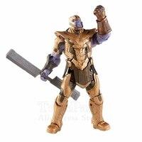Marvel Legends 2019 Movie Avengers 4 Endgame Armored Thanos BAF 8 Action Figure Build A Figure Original Toys Doll Loose