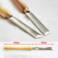 1PCS A2014 A Oval Beveled Knife Wood Lathe Turning HSS Woodturning Tools,Tools for Carving Wood,Carving Chisel JF1624
