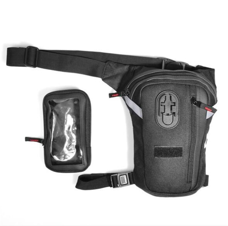 CUCYMA Motorbike Oil Fuel Tank Bag Motorcycle Leg Bag Knight Waist Pocket Outdoor Package Bag Moto Motocicleta Side Bag