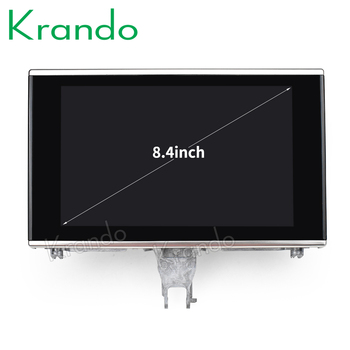 Krando Android 8.1 8.4'' car radio multimedia player for Audi A6 A6L 2012-2018 GPS audio navigation system stereo bluetooth wifi