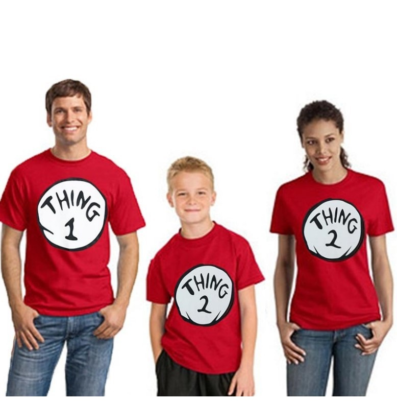 casual tshirt family matching outfits look mommy and me clothes mother daughter dad son tee shirts clothes mom girl son clothing in Matching Family Outfits from Mother Kids