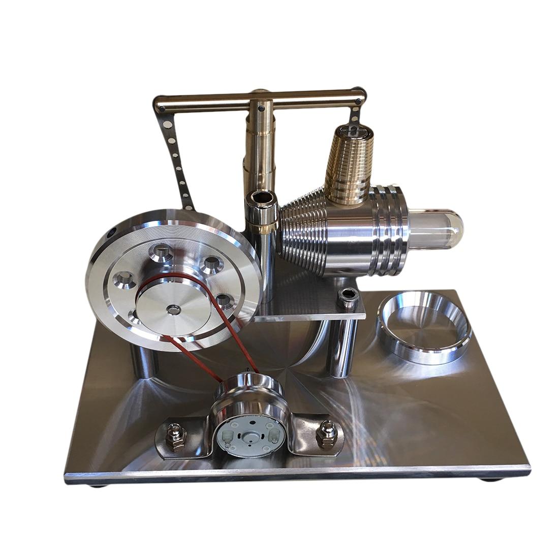 Balance Stirling générateur moteur cylindre générateur éducation modèle bricolage tige de vapeur jouet