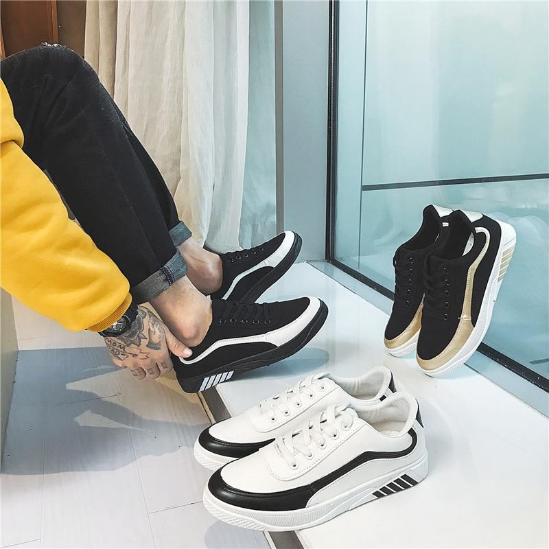 orange Homme 44 39 blanc Hommes Taille Noir Toile Souple Casual Comfortatble Chaussures De Shipping Grande Drop Pour Conduite 7BSaqwS