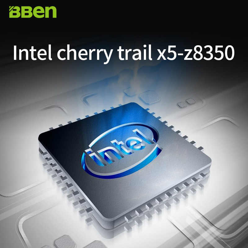 كمبيوتر محمول BBen Mini MN9 أصلي مزود بمعالج إنتل Z8350 رباعي النواة DDR3L ذاكرة وصول عشوائي 4 جيجابايت/64 جيجابايت/ذاكرة قراءة فقط موديل Windows10 عصا كمبيوتر صغيرة للمكتب والمنزل