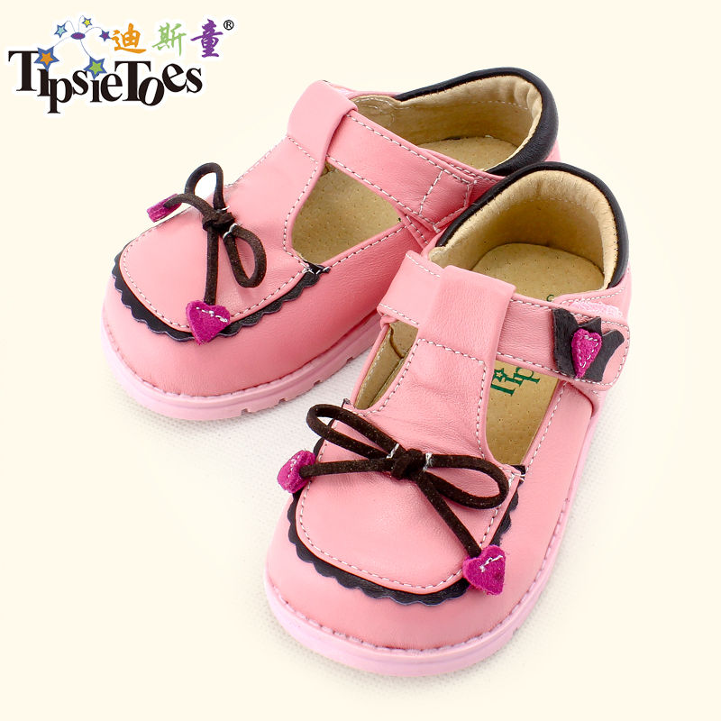 TipsieToes Brand High Quality Bow-knot Kids Children Sneakers Shoes For Girls 1 - 3 Years Old New 2020 Autumn Spring A65106