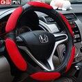 Auto tampa da roda de direcção do carro sanduíche cobertura de volante auto estofos volante suprimentos auto car